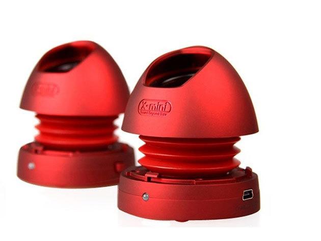 X-min MAX v1.1 Capsule Speaker (Piros)
