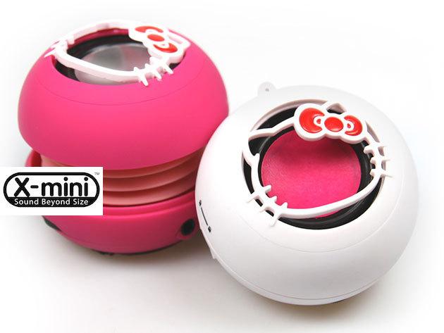 X-mini akkumulátoros hangszórók óriási hangzással telefonhoz, MP3-hoz, laptophoz!