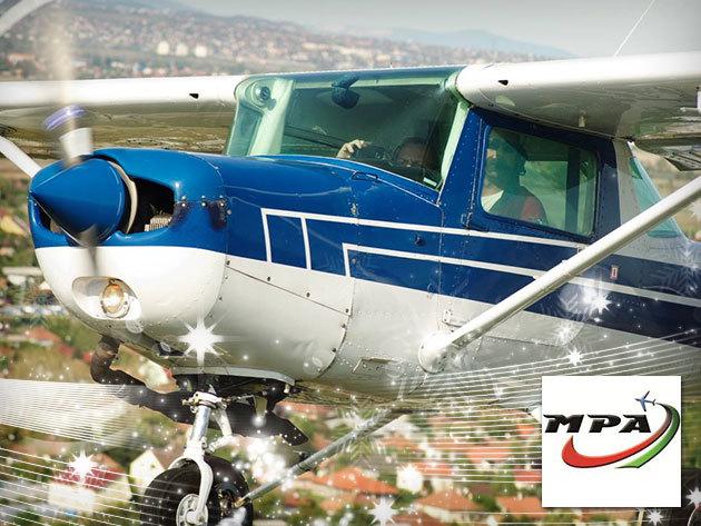 """""""Vedd át a kormányt!"""" és egy elméleti oktatás után légy Te a repülőgép pilótája a Magyar Pilóta Akadémia jóvoltából!"""
