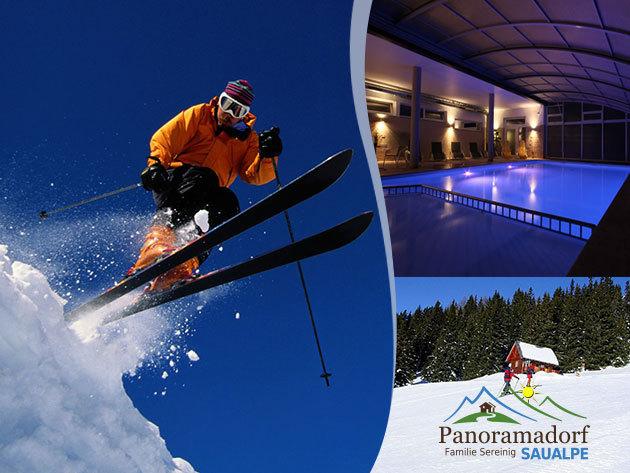 Wellness és síelés Ausztriában - Panoramadorf Saualpe 4 nap /3 éj 2 fő részére félpanzióval!