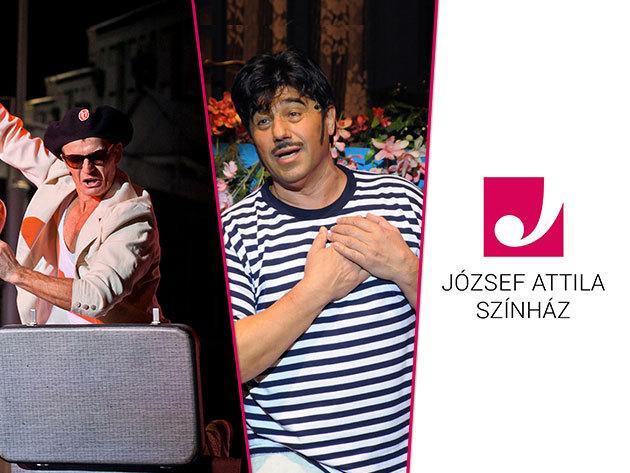 Szilveszter 2013 – Zenés, színházi óévbúcsúztató előadás, pezsgőzéssel a József Attila Színházban