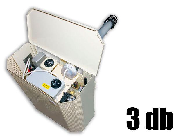 Konvektor átvizsgálása,tisztítása és felkészítése a fűtési szezonra (3 db)