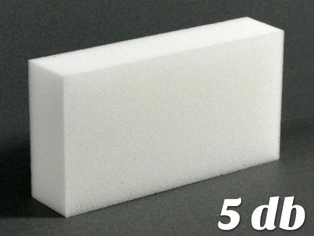 Mágikus tisztító szivacs 5 darabos szettben