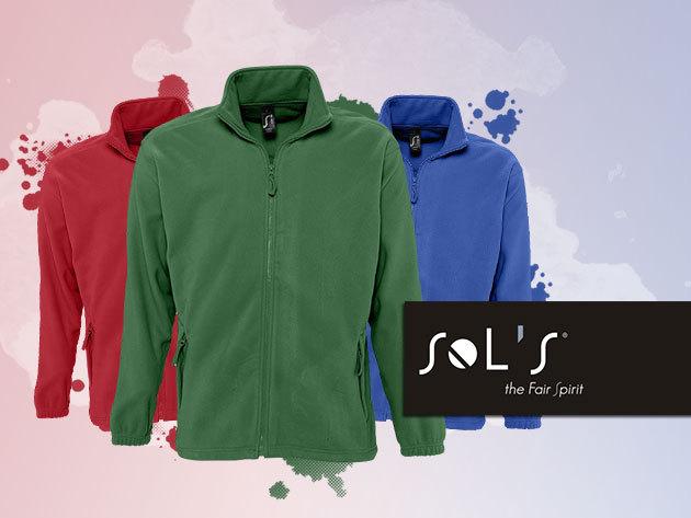 Van Sol's uniszex polár pulóver több színben!