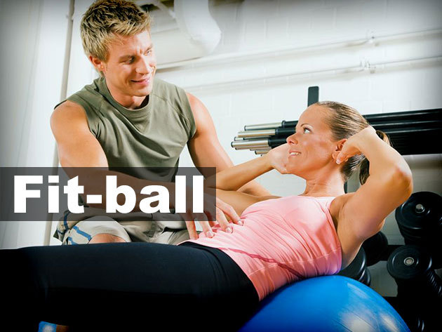 55 cm-es Fit-ball labda a kíméletes edzésekért!