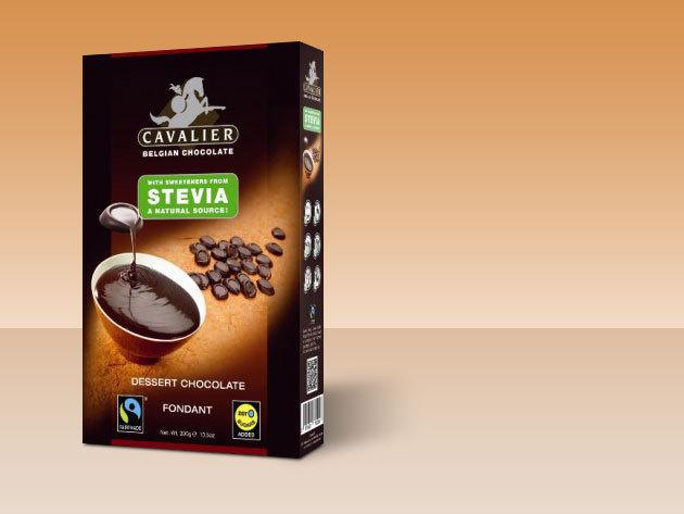 Belga csokoládé pasztillák steviával (300g)  + 10 % kedvezmény bármire