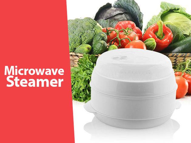 Microwave Steamer - Pároló edény szett mikrohullámú sütőhöz