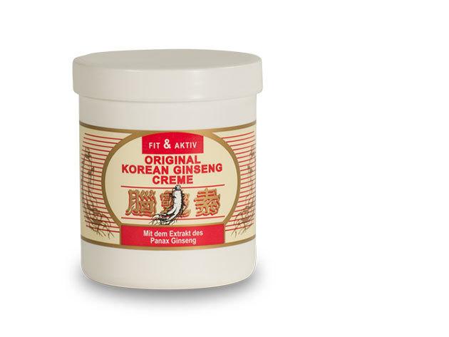 Fit & Aktiv Original Ginseng Creme (500ml)