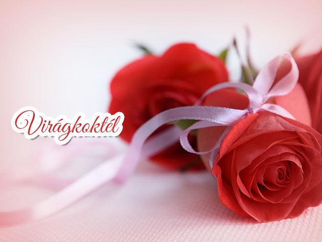 Örök Rózsa Valentin-napra - Swarovski kövekkel, gravírozással vagy képpel díszítve