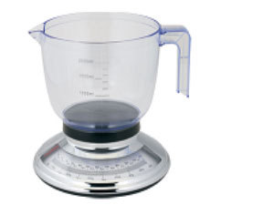 Analóg konyhai mérleg mérőedénnyel 5kg (BL-1182)