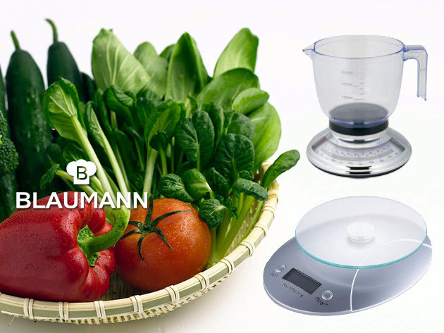 Digitális és analóg konyhai mérlegek a Blaumanntól