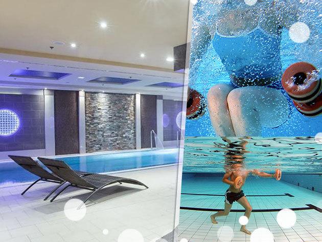 3 vagy 5 alkalmas aquafitnesz a belvárosban - Hotel President