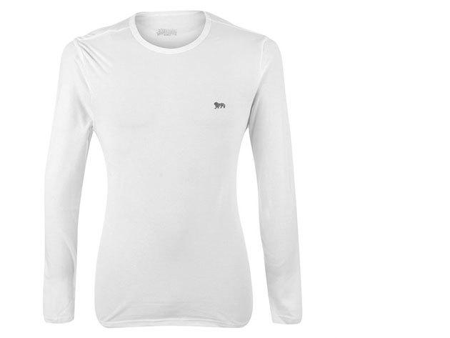 Lonsdale férfi hosszú ujjú póló (fehér)