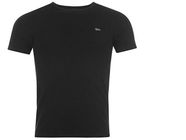 Lonsdale férfi rövid ujjú póló (fekete)