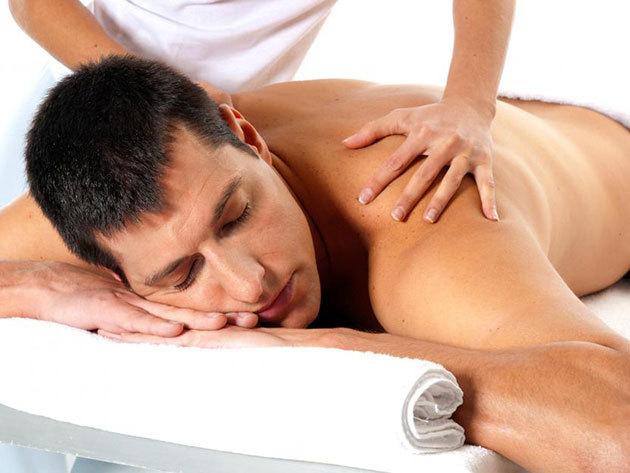Relaxáló hátmasszázs (30 perc)