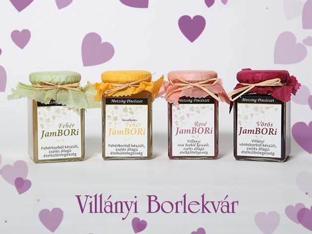 JamBORi borlekvárok az első és eredeti Villányi Borlekvár készítőitől!