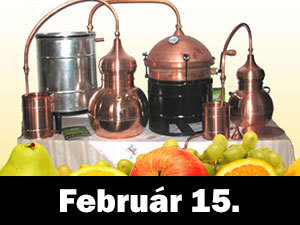 Tanulj meg minőségi pálinkát főzni! Gyorstalpaló, gyakorlati és elméleti oktatás! Február 15.