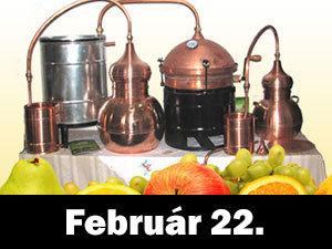 Tanulj meg minőségi pálinkát főzni! Gyorstalpaló, gyakorlati és elméleti oktatás! Február 22.