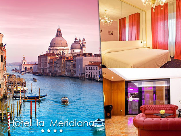 Szállás Velence közelében: 3 nap/ 2 éjszaka reggelivel 2 fő részére - Hotel La Meridiana****