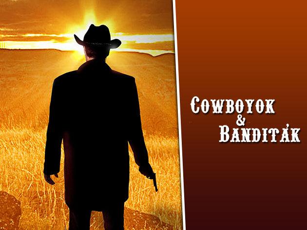 Cowboyok és banditák - vígjáték a Zöldmacska Kultkocsmában február 18-án!