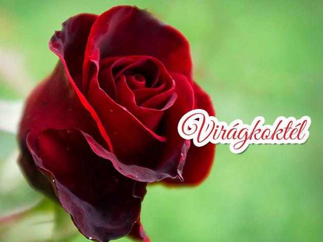 Örök Rózsacsokor bonbonnal - tartósított virág gravírozással vagy képpel díszítve