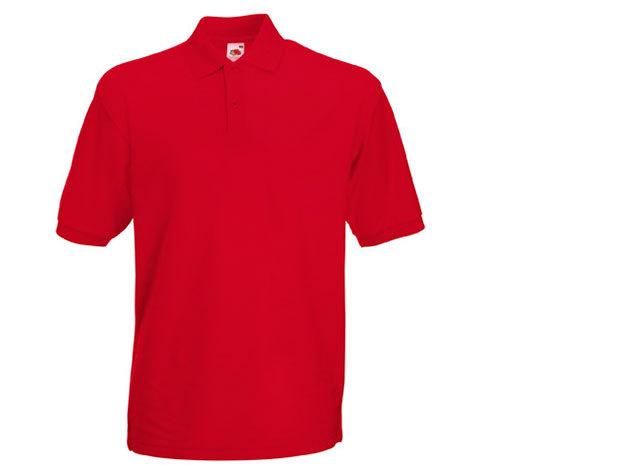 Férfi piké póló - piros