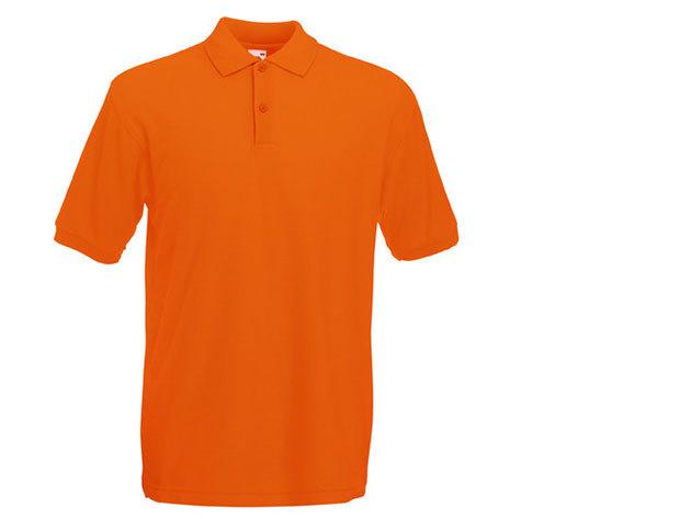 Férfi piké póló - narancs
