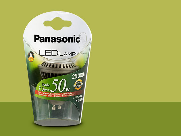 Panasonic LED GU10 7W