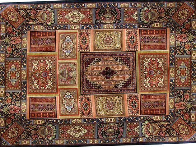 Selyem szőnyeg - 99 x 150 cm
