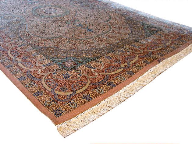 Selyem szőnyeg - 131 x 217 cm