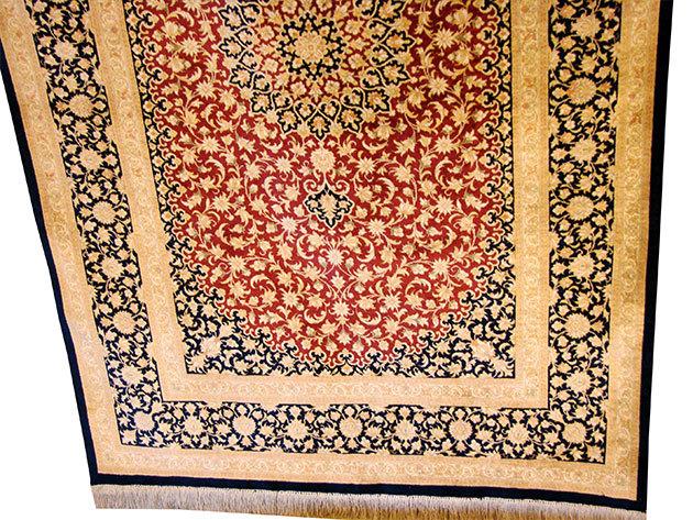 Selyem szőnyeg - 96 x 152 cm
