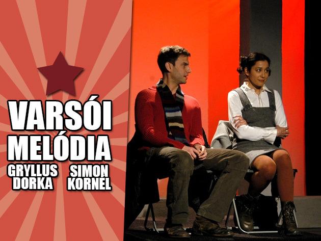 LEONYID ZORIN: Varsói melódia - Gryllus Dorka és Simon Kornél előadásában, a Pinceszínházban!