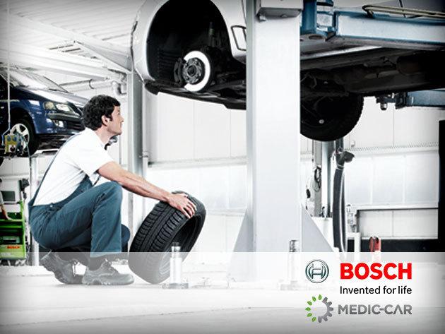Futómű beállítás BOSCH diagnosztikával és fagyálló méréssel Dunakeszin!