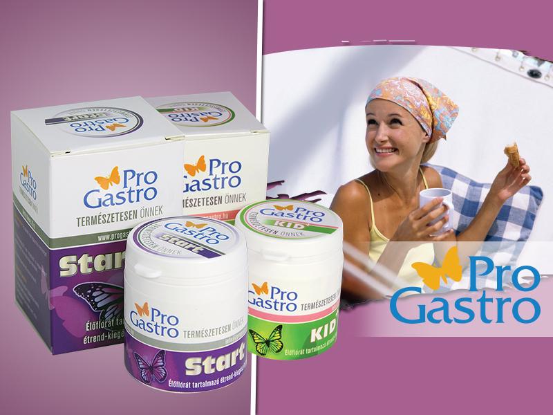 ProGastro KID+ és ProGastro START élőflórát tartalmazó étrend-kiegészítő