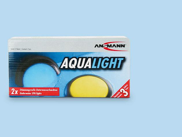 Fényterápia - Ansmann Aqua Light, LED-es, automatikusan színváltós vízálló lámpa