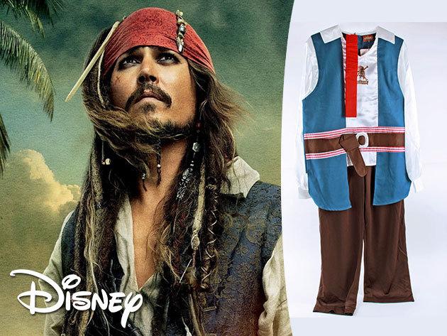 Farsangi jelmez fiúknak: Jack Sparrow, Hook Kapitány és Micimackó