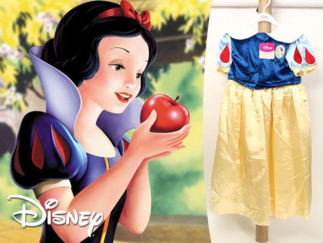 Hófehérke - Disney hercegnős farsangi jelmezek, akár egy játékbabával együtt!