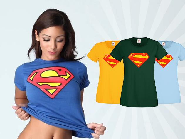 Superwoman polo - karcsúsított női póló a hétköznapok hőseinek!