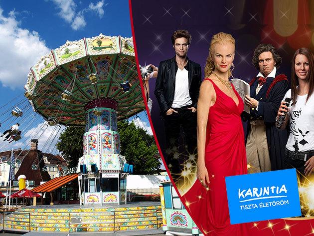 Látogass el Bécsbe! Egy napos buszos kirándulás a Praterbe, és a Madame Tussaud panoptikumba március 15-én