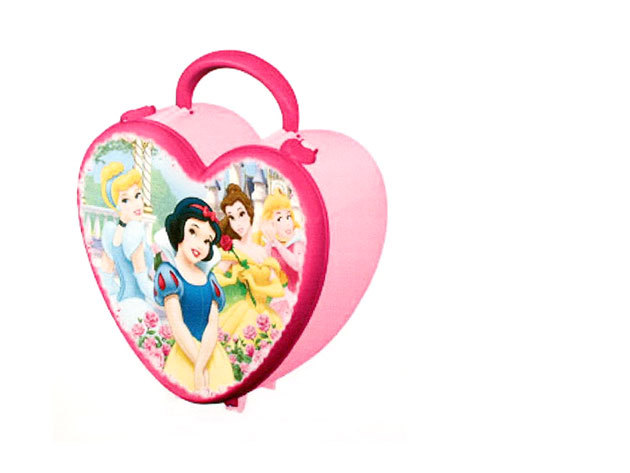 Princess szívdoboz (20x22x11 cm)