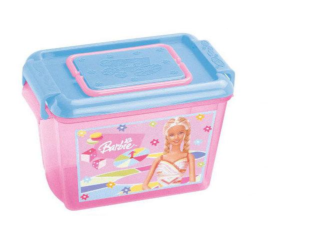 Barbies közepes tároló doboz (17x23x15 cm)