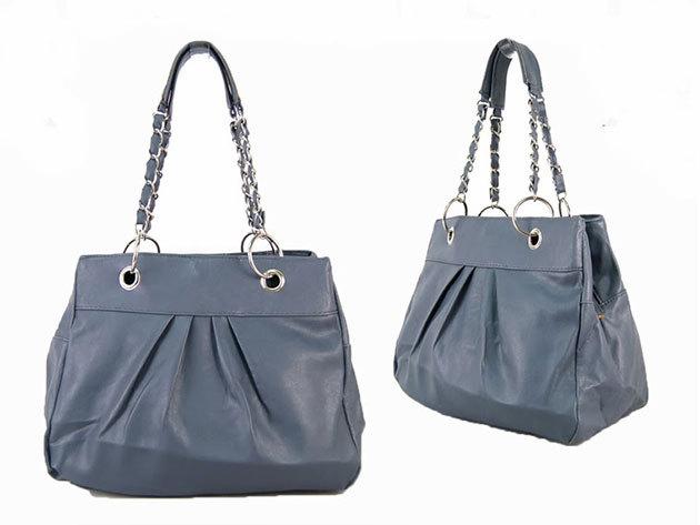 Láncos táska /Nicole - szürke