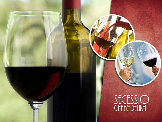 Borkóstoló estek március 14-től a Secessio Cafe-ban, a Szabadság térnél!