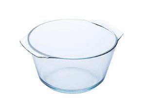 Hőálló üvegtál, leveses, 4 l BL-2030