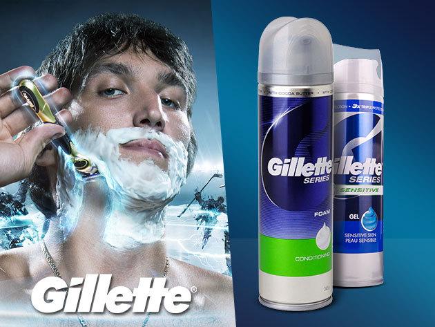 Gillette Series borotvahab és gél - légy férfiasan tökéletes!