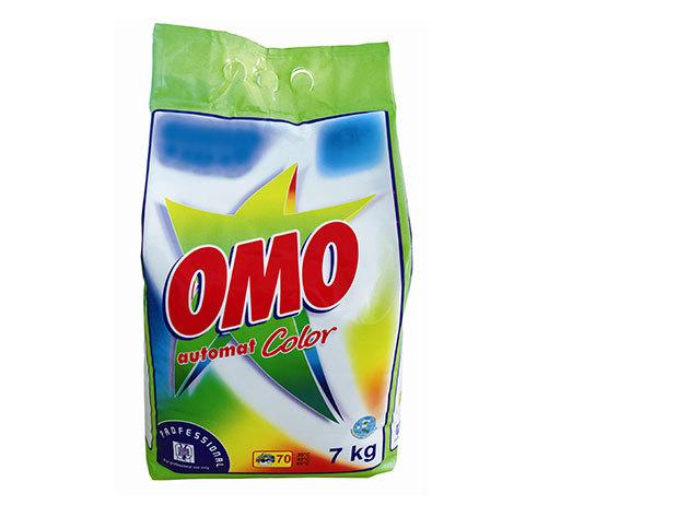 7 kg OMO Color - mosópor színes textíliákhoz (599 Ft/kg)