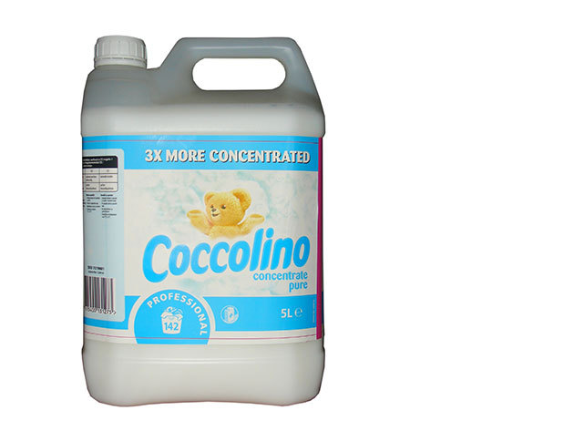 5 l Coccolino White - Öblítő koncentrátum (690 Ft/l)