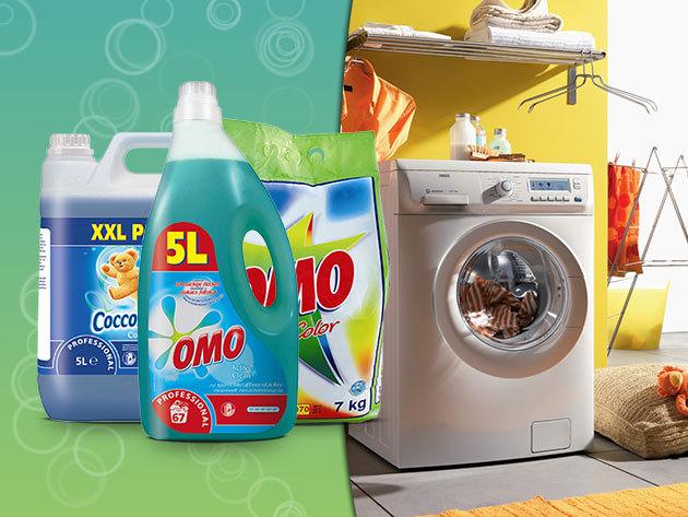 Tavaszi nagymosás: Coccolino, Domestos és OMO termékek óriás kiszerelésben!