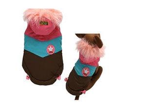 Kutyaruha - rózsaszín
