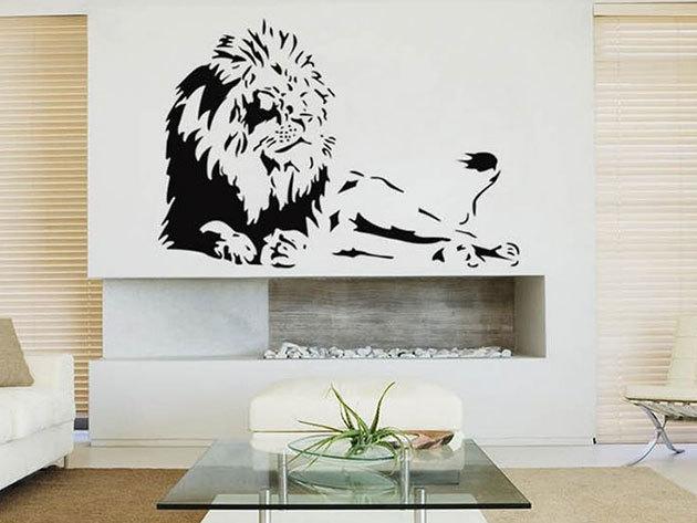 Fekvő oroszlán - 85x56cm